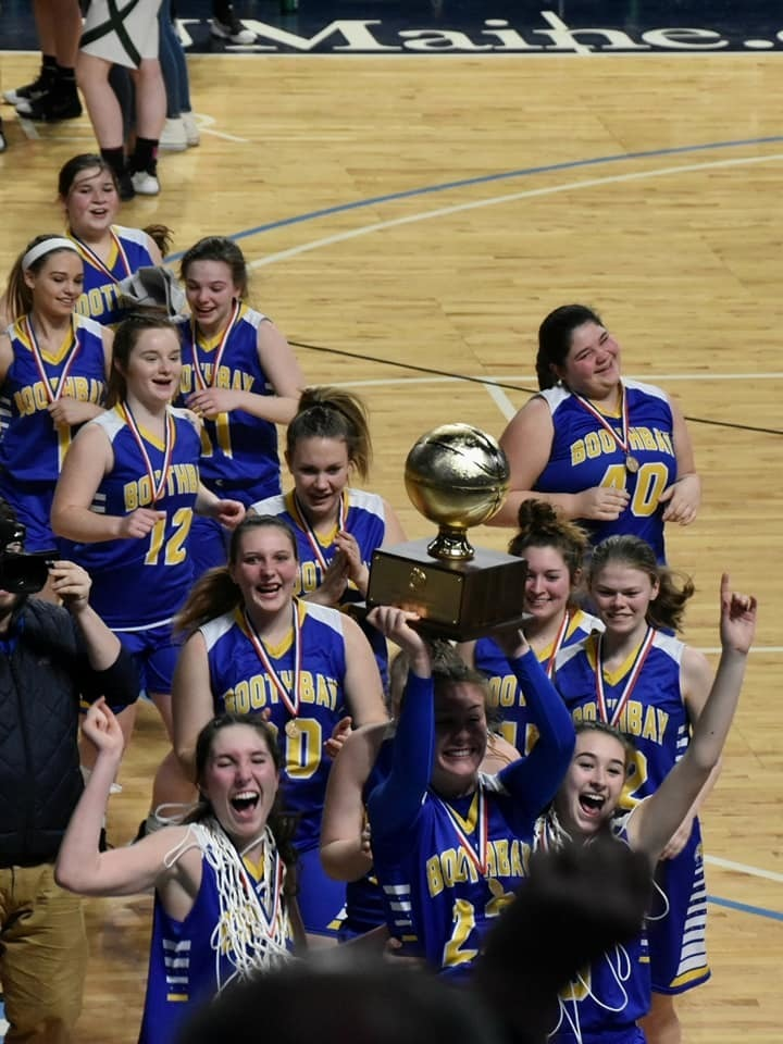 Boothbay Girls Take Home The Gold Ball!