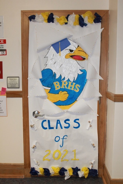 BRHS Class Door Decorating