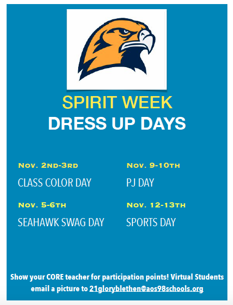 BRHS School Spirit Week