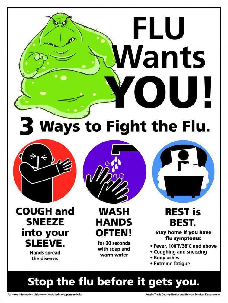It's cold and flu season!