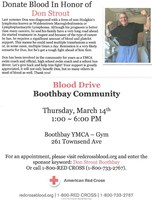Blood Drive March 14
