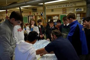 BRHS marine technology class introduces students to composites