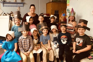 BRES K-2nd Grade Thanksgiving Feast