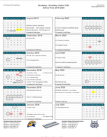 BRES Updated 2019-2020 Calendar