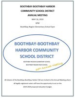 Annual Meeting May 16th