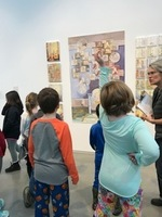 BRES 3rd Graders visit the Center for Maine Contemporary Art (CMCA)