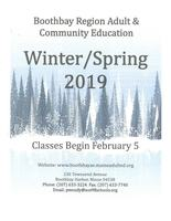 Winter/Spring Adult Ed Brochure