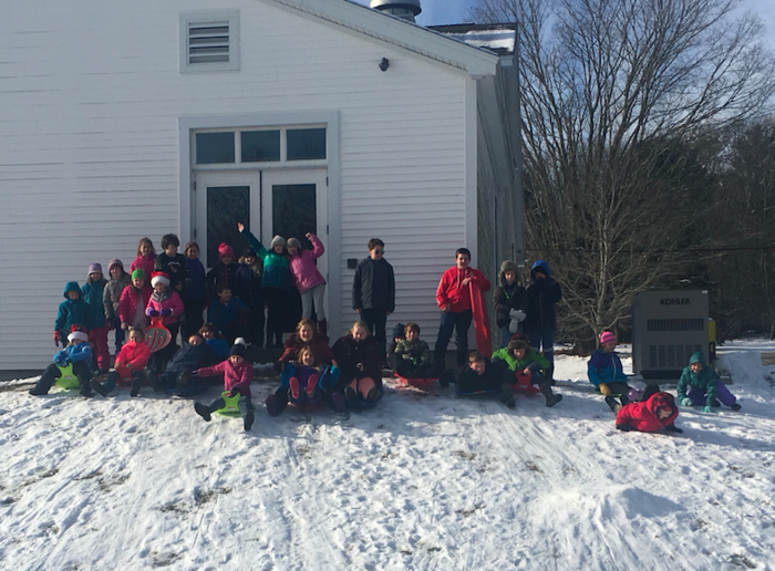 Thank you PTF and L.L. Bean for our new sleds!