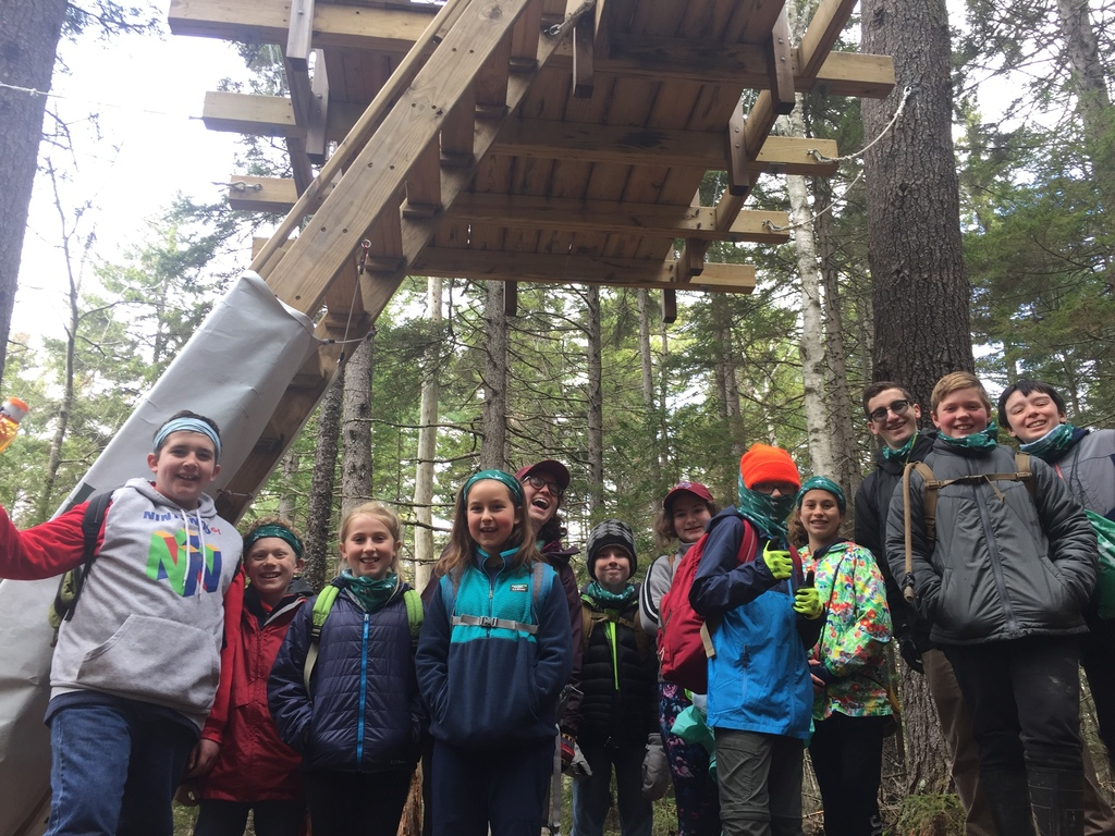 Grade 5 at the bottom of the perch
